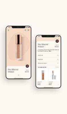 Mobile Ui Design, App Ui Design, Best App Design, Design Design, Flat Design, Interface Web, Interface Design, Ui Kit, Paris Beauty