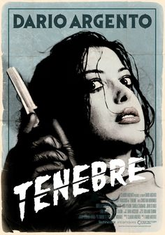 Tenebre Dario Argento, Theatrical Onesheet / Movie Poster for Nonstop Entertainment, design by Kellerman Design. Horror Movie Posters, Cinema Posters, Horror Films, Dario Argento, Slasher Movies, Movie Covers, Pikachu, Pokemon, Vintage Horror