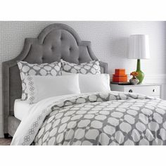 Grey Hollywood Duvet Cover by Jonathan Adler, Duvet Covers & Comforters,Kids Bedding Sets, Bedding for Girls