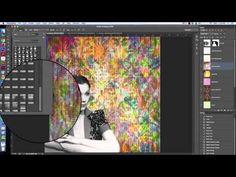 Adobe Photoshop: How To Make Digital Design Paper 3 - YouTube