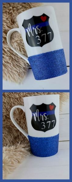 really big police wife coffee mug Mrs Officer, Create Yourself, Finding Yourself, Police Wife Life, Thin Blue Lines, Law Enforcement, Unique Gifts, Diy Crafts, Mugs