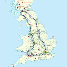Great Britain Tour - a 14 day self drive tour taking in England, Wales and Scotland. Great for ideas.