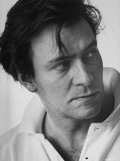 christopher plummer. so handsome and serious in his young age.