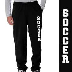 Amazon.com: Soccer Fleece Sweatpants: Clothing
