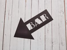 Vinyl Wall Decal Retro Bar Sign by Msapple on Etsy https://www.etsy.com/listing/233047725/vinyl-wall-decal-retro-bar-sign