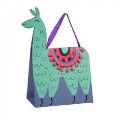 No Probllama medium gift bag