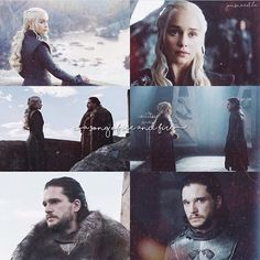 I absolutely loved every single one of their moments in episode 3. ☺️ • • Dany x Jon #HouseTargaryen #iceandfire #GameofThrones
