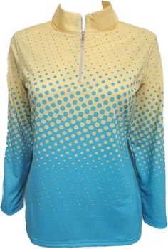 This sportswear performance collection of Bette & Court/Swing Ladies & Plus Size Cool Elements Golf Shirt covers a full spectrum of benefits. The integrated sun protection with SPF standards, functional athletic lines and a smooth comfortable feel deliver for an active lifestyle. #lorisgolfshoppe