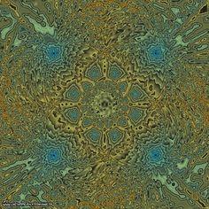 Artistic view of the prime numbers [Vue artistique des nombres premiers]