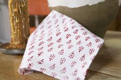 Printed Cloth Napkins - Hand Block Printed from Attise