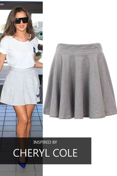 Cheryl Cole, Celebs, Celebrities, Skater Skirt, Your Style, Fashion Beauty, Celebrity Style, That Look, Mini Skirts