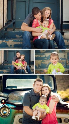 Sweet Family of Three {Kingman Arizona Baby & Family Photographer | Las Vegas Baby & Family Photographer}