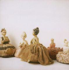 very vintage pincushions