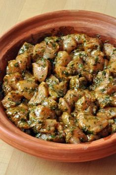 Chicken tagine with chermoula or how to put the sun in your kitchen. Healthy Cooking, Healthy Dinner Recipes, Whole Food Recipes, Cooking Recipes, Tagine Recipes, Baked Chicken Recipes, Food Preparation, Food And Drink, Curry