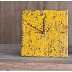 "Unsym Elm Clock - nearly 8"" x 8""-- perfect to see the time-! From Moyne Crossroads:   Resources and Inspiration for Helping Professionals"