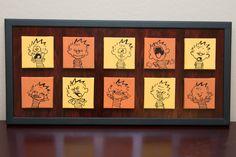 Calvin and Hobbes Nursery: Calvin's Many Faces