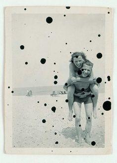 see more — solsetur: Anna Barriball Vintage Swim, Vintage Love, Art And Illustration, Photomontage, Old Photos, Vintage Photos, Magazine Art, Art Sketchbook, Sculpture Art