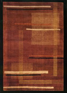 Alveus Cayenne Tibetan Hand Knotted Rug from the Tibetan Rugs collection at Modern Area Rugs