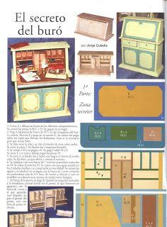 My Work Miniature: The Secret of the bureau pt2