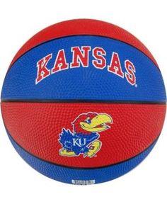Jarden Sports Kids' Kansas Jayhawks Alley-Oop Basketball - Black