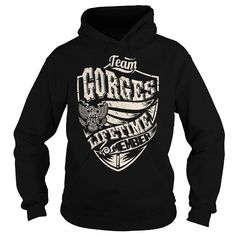 Awesome Tee Last Name, Surname Tshirts - Team GORGES Lifetime Member Eagle Shirts & Tees