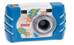 3 best first cameras for preschoolers - Fisher Price camera, believe it or not
