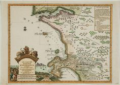 Map of the Cape Old Maps, Antique Maps, Le Cap, Map Globe, Leiden, Africa Travel, Cape Town, Old And New, South Africa