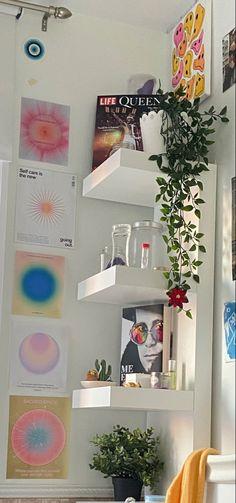 Room Ideas Bedroom, Bedroom Decor, Bedroom Inspo, Indie Room, Cute Room Decor, Pretty Room, Room Goals, Aesthetic Room Decor, Cozy Room