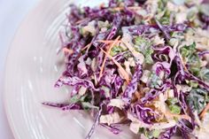 Curtis Stone's Fireworks Coleslaw  Sliced Cabbage with Poppy Seed Dressing