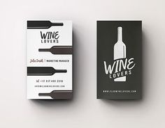 "Check out new work on my @Behance portfolio: ""Wine Lovers 