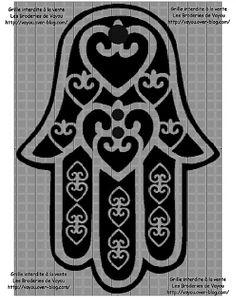 1000 id es sur le th me tatouages de croix sur pinterest - Coloriage main de fatma ...