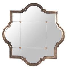Marissa Quatrefoil Antique Bronze Large Mirror #hollywoodregency #kathykuohome