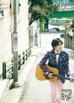 2014.06, Woman's JoongAng, Eddy Kim Eddy Kim, Superstar K, Kim Jung, Talent Show, Korean Singer, Singers, Kpop, Blazer, Band