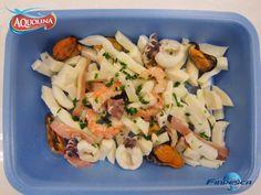 Che si mangia oggi di buono? Una fresca e gustosa insalata di mare AQUOLINA by Finpesca!   #pesce #ricettepesce #insalatadimare   http://www.aquolinafinpesca.com/index.htm