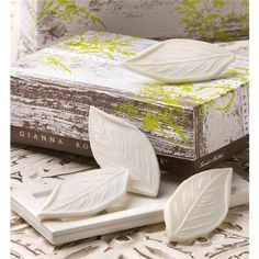 Decorative Soap | Leaf Soap | Tea Leaf | Verbena | Decorative Soap | Gianna Rose Atelier®