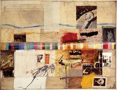 Robert Rauschenberg's 1956 painting 'Small Rebus'