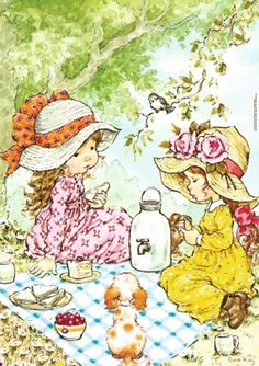 Immagini Sara Kay e Holly Hobbie Sarah Key, Holly Hobbie, Decoupage, Mary May, Hobbies To Try, Australian Artists, Cute Images, Bing Images, Cute Illustration