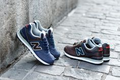 #NewBalance 574 Maroon & Navy Pack #sneakers