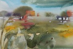 Watercolor by Silja Salmistu