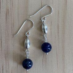 Lapis Lazuli Sterling Silver Earrings