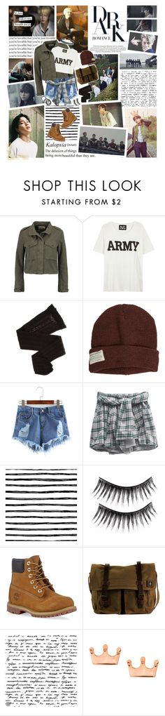 """""""1O3. Thank you, for becoming an """"us"""""""" by misspyromaniac ❤ liked on Polyvore featuring rag & bone, NLST, Trasparenze, Krochet Kids, Timberland, DamnDog, Mminimal, Humble Chic, bts and bangtan"""