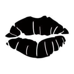 Style and Apply Kissing Lips Wall Decal