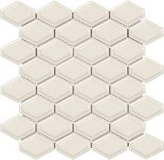 Biscuit Convex Loft Mosaic   #mosaic #convex #biscuit #beige #Soho #MidAmericaTile