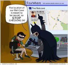 batman foursquare