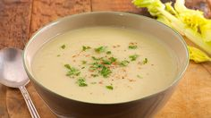 Try creating our delicious yet simple recipe for Cream of celery soup Cream Of Celery Soup, Soup Recipes, Recipies, Natural Flavors, Healthy Living, Stock Cubes, Clean Eating, Easy Meals, Vegetable Soups