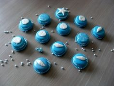 Seashell macarons By meentje on CakeCentral.com
