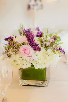 Pink and Purple Classic Wedding ~ Figlewicz Photography | bellethemagazine.com
