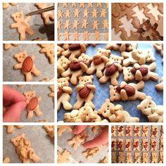 Имбирное печенье Мишки с орешками.   Colors.life