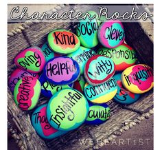 One of my favorite end of year traditions is passing out character rocks to my students. This school-wide tradition was started by m...