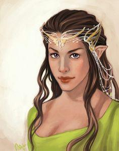 Arwen http://namecchan.deviantart.com/art/Arwen-Undomiel-399016553